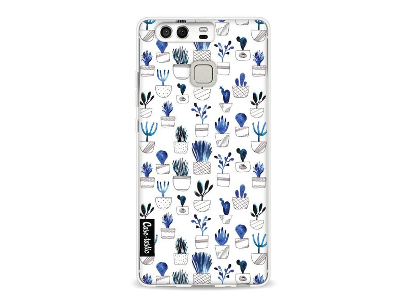 Casetastic Softcover Huawei P9  - Blue Cacti