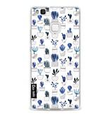Casetastic Softcover Huawei P9 Lite - Blue Cacti
