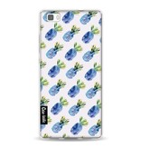 Casetastic Softcover Huawei P8 Lite - Blue Pineapples