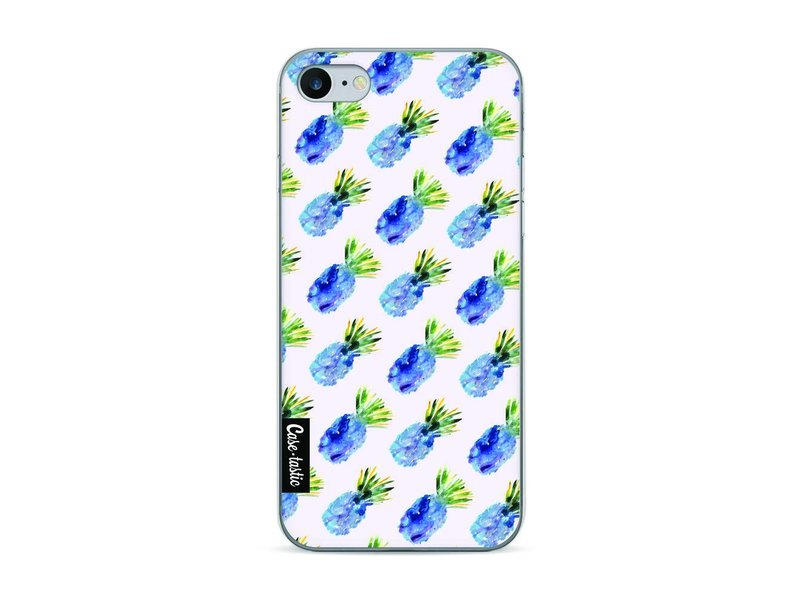 Casetastic Softcover Apple iPhone 7 - Blue Pineapples