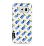Casetastic Softcover Samsung Galaxy S6 - Blue Pineapples
