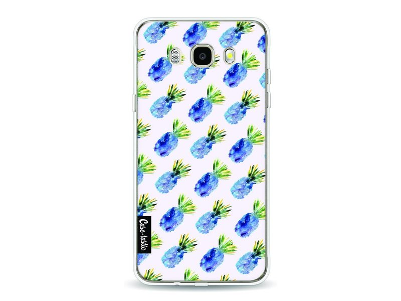 Casetastic Softcover Samsung Galaxy J5 (2016) - Blue Pineapples