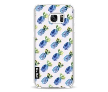 Blue Pineapples - Samsung Galaxy S7 Edge