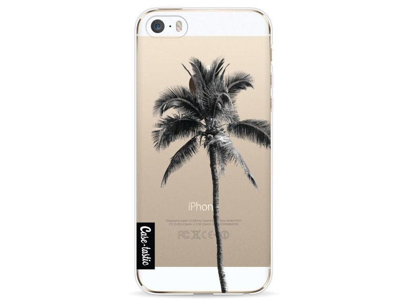 Casetastic Softcover Apple iPhone 5 / 5s / SE - Palm Tree Transparent