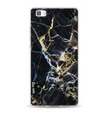 Casetastic Softcover Huawei P8 Lite - Black Gold Marble
