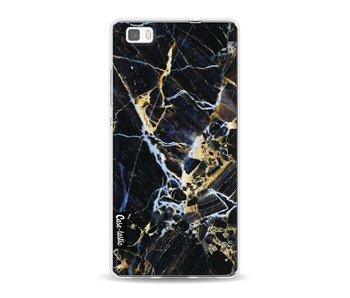 Black Gold Marble - Huawei P8 Lite