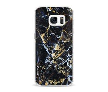 Black Gold Marble - Samsung Galaxy S7