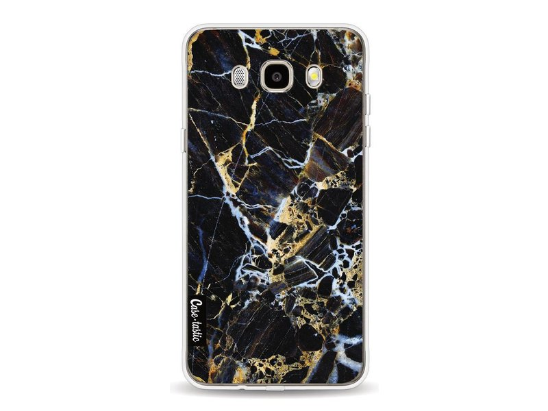 Casetastic Softcover Samsung Galaxy J5 (2016) - Black Gold Marble
