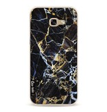 Casetastic Softcover Samsung Galaxy A5 (2017) - Black Gold Marble