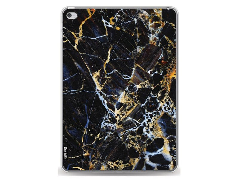Casetastic Softcover Apple iPad Air 2 - Black Gold Marble