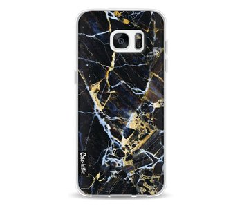 Black Gold Marble - Samsung Galaxy S7 Edge