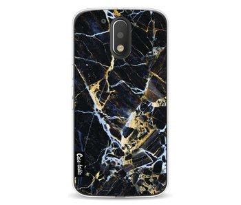 Black Gold Marble - Motorola Moto G4 / G4 Plus