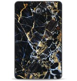 Casetastic Softcover Samsung Galaxy Tab A 10.1 (2016) - Black Gold Marble