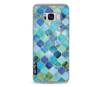 Aqua Moroccan Tiles - Samsung Galaxy S8