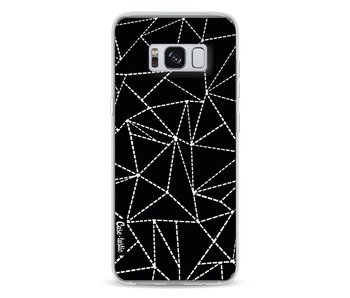 Abstract Dotted Lines Black - Samsung Galaxy S8
