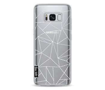 Abstract Dotted Lines Transparent - Samsung Galaxy S8
