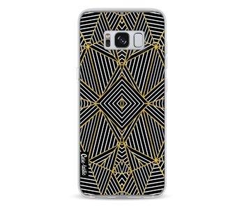 Abstraction Half Gold - Samsung Galaxy S8