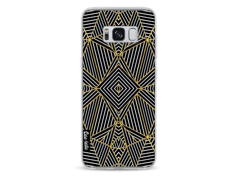 Casetastic Softcover Samsung Galaxy S8 - Abstraction Half Gold