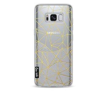 Abstraction Half Half Transparent - Samsung Galaxy S8