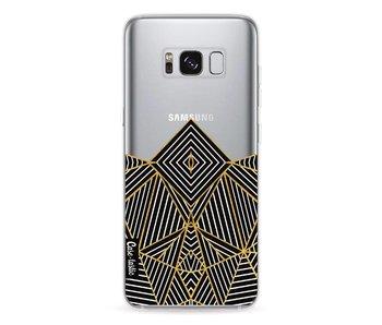 Abstraction Half Transparent - Samsung Galaxy S8