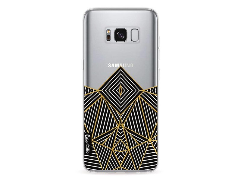 Casetastic Softcover Samsung Galaxy S8 - Abstraction Half Transparent