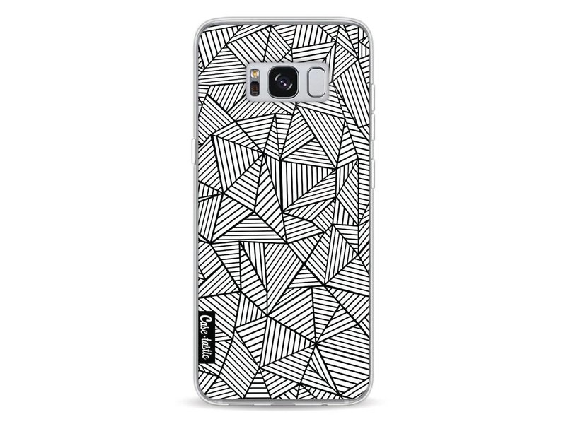 Casetastic Softcover Samsung Galaxy S8 - Abstraction Lines
