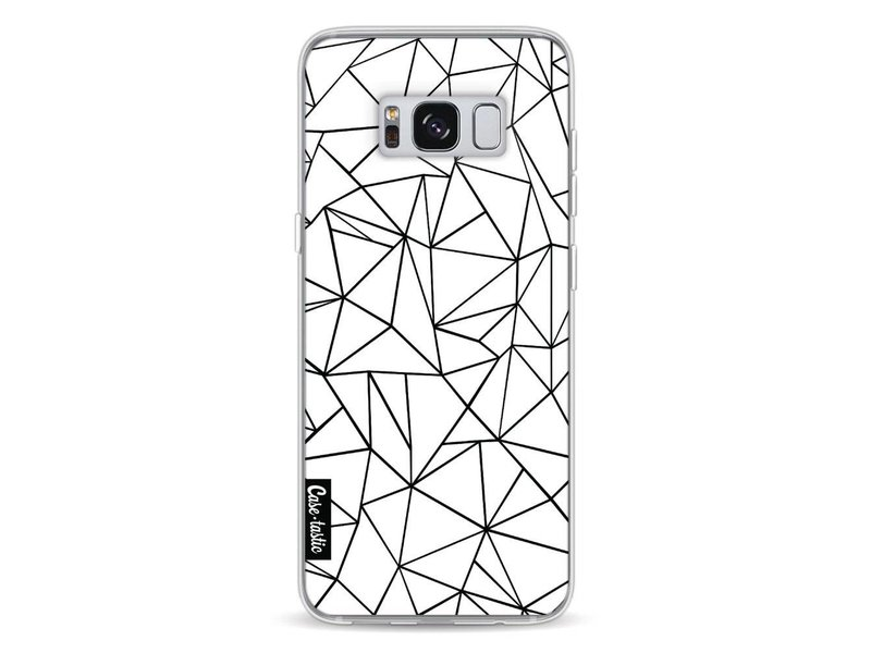 Casetastic Softcover Samsung Galaxy S8 - Abstraction Outline
