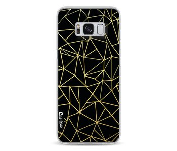 Abstraction Outline Gold - Samsung Galaxy S8