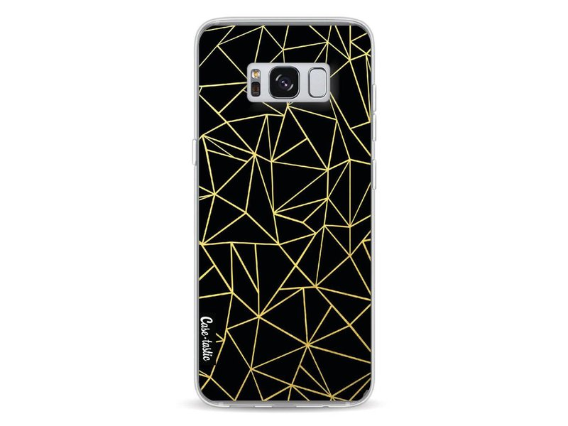 Casetastic Softcover Samsung Galaxy S8 - Abstraction Outline Gold