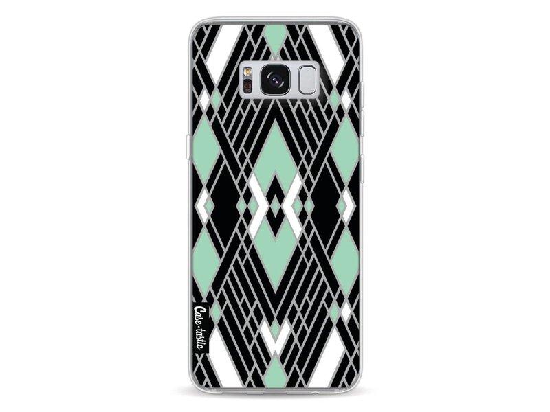 Casetastic Softcover Samsung Galaxy S8 - Art Deco Mint