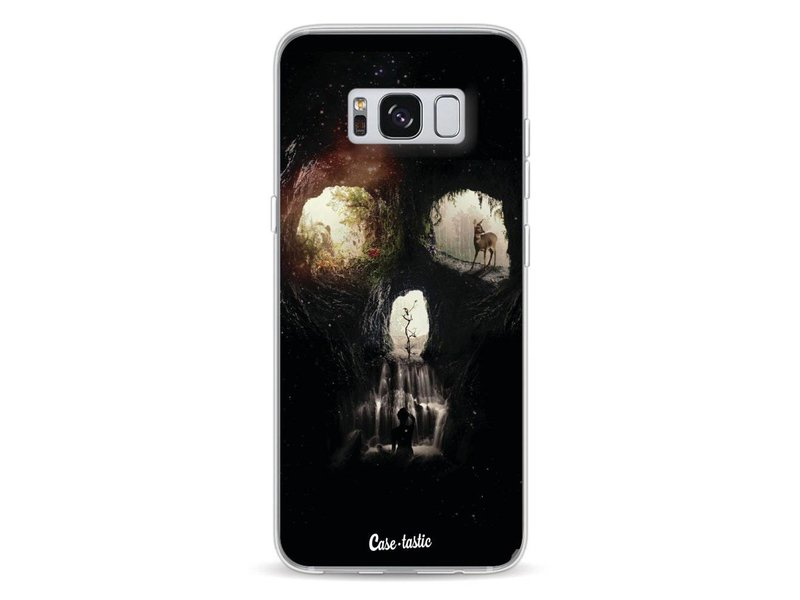 Casetastic Softcover Samsung Galaxy S8 - Cave Skull