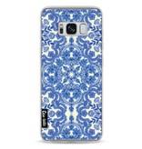 Casetastic Softcover Samsung Galaxy S8 - Blue White Folk Art