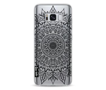 Black Mandala - Samsung Galaxy S8