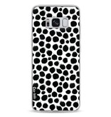 Casetastic Softcover Samsung Galaxy S8 - Black Dotted