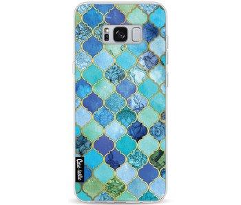 Aqua Moroccan Tiles - Samsung Galaxy S8 Plus