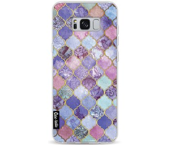Purple Moroccan Tiles - Samsung Galaxy S8 Plus