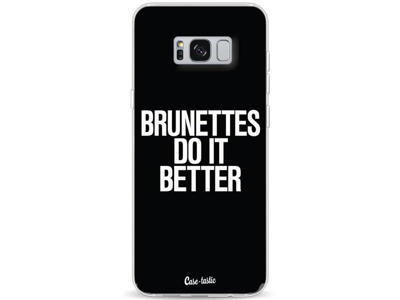 Casetastic Softcover Samsung Galaxy S8 Plus - Brunettes Do It Better