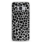 Casetastic Softcover Samsung Galaxy S8 - British Mosaic Black