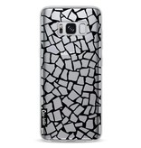 Casetastic Softcover Samsung Galaxy S8 - British Mosaic Black Transparent