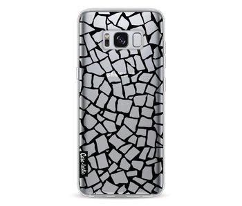 British Mosaic Black Transparent - Samsung Galaxy S8