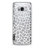 Casetastic Softcover Samsung Galaxy S8 - British Mosaic White Transparent