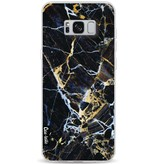 Casetastic Softcover Samsung Galaxy S8 Plus - Black Gold Marble