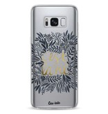 Casetastic Softcover Samsung Galaxy S8 - Cest La Vie BlackGold