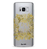 Casetastic Softcover Samsung Galaxy S8 - Cest La Vie Gold