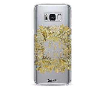Cest La Vie Gold - Samsung Galaxy S8