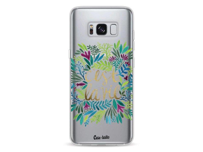 Casetastic Softcover Samsung Galaxy S8 - Cest La Vie Multi