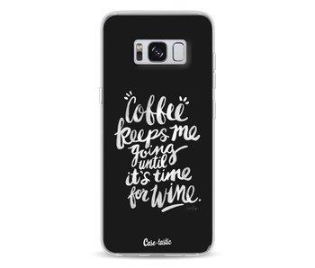 Coffee Wine White - Samsung Galaxy S8
