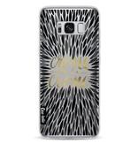 Casetastic Softcover Samsung Galaxy S8 - Creme de la Creme Black
