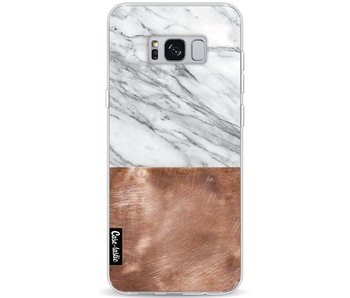 Marble Copper - Samsung Galaxy S8 Plus
