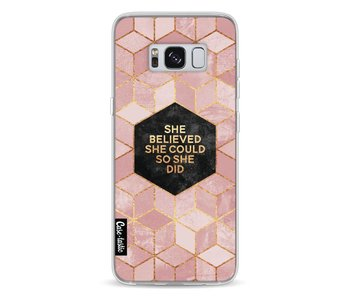 She Believed She Could So She Did - Samsung Galaxy S8